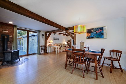 Brewster Cape Cod vacation rental - Open floor plan allows for dining room expansion.