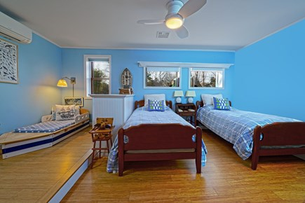Brewster Cape Cod vacation rental - The Blue room is perfect for young and old.