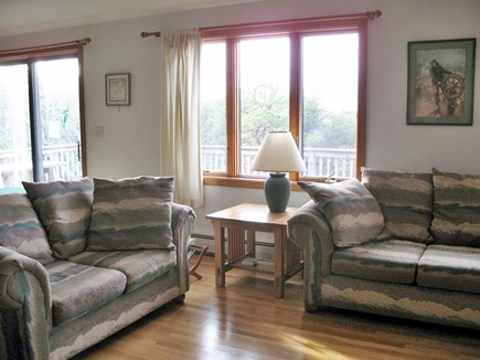Truro Cape Cod vacation rental - Three couches and more in the living room