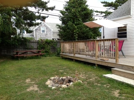 Scituate, Humarock MA vacation rental - View of yard and deck