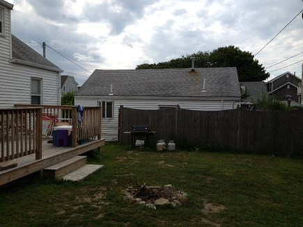 Scituate, Humarock MA vacation rental - Rear view before fence was replaced.