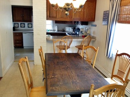 Scituate, Humarock MA vacation rental - Dining room with view into kitchen