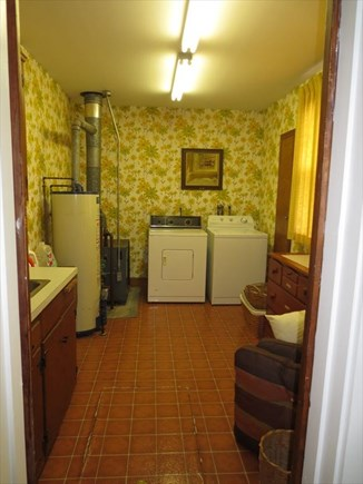 West Falmouth Cape Cod vacation rental - Laundry