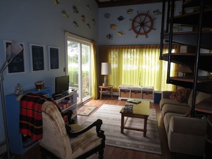 West Falmouth Cape Cod vacation rental - Living Area