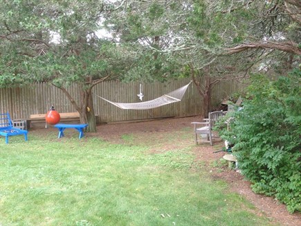 West Falmouth Cape Cod vacation rental - Back yard