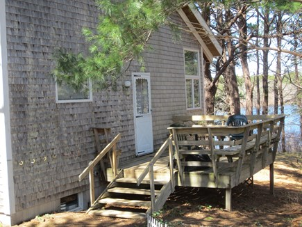Eastham Cape Cod vacation rental - Front Deck with water views