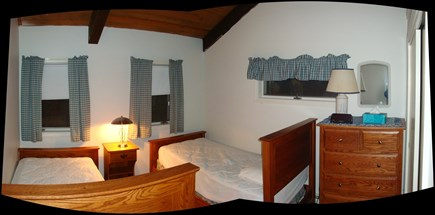 Eastham Cape Cod vacation rental - Upstairs bedroom with twin beds
