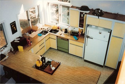 Eastham Cape Cod vacation rental - View of Kitchen from 2nd floor