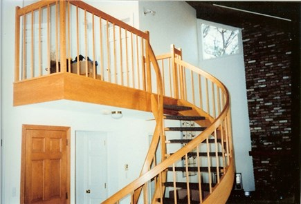 Eastham Cape Cod vacation rental - Circular stairs