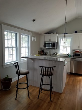 Dennisport Cape Cod vacation rental - Breakfast bar / kitchen.