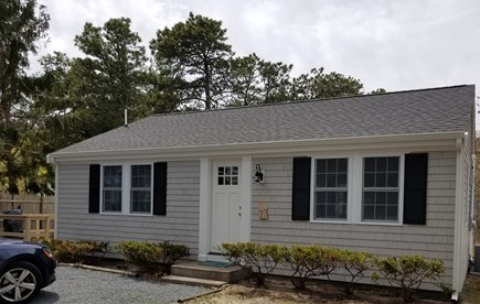 Dennisport Cape Cod vacation rental - Front of house.