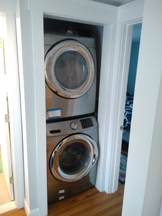 Dennisport Cape Cod vacation rental - On site washer and dryer.