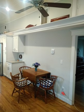 Dennisport Cape Cod vacation rental - Dining area.