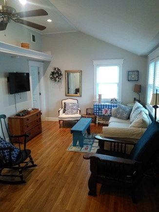 Dennisport Cape Cod vacation rental - Living room.