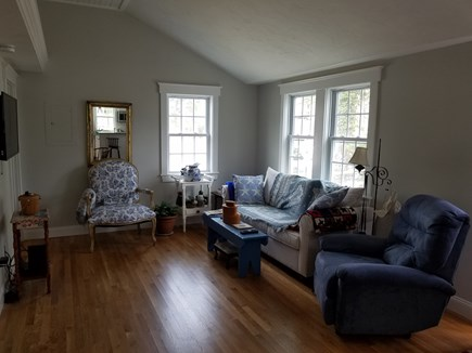 Dennisport Cape Cod vacation rental - Living room, view from kitchen.