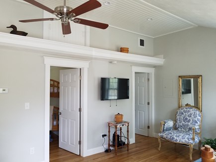 Dennisport Cape Cod vacation rental - Living room, view from front door.