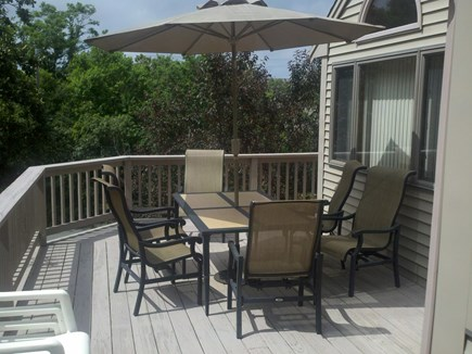 Dennis Cape Cod vacation rental - 2nd floor deck