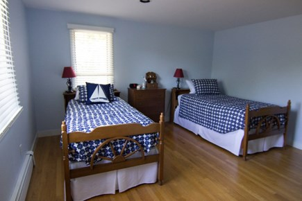 Dennis Cape Cod vacation rental - 1st floor bedroom with two twin beds