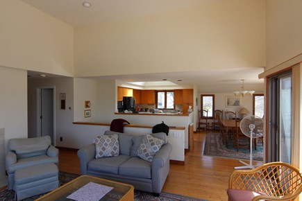 Dennis Cape Cod vacation rental - 2nd floor open living/kitchen area