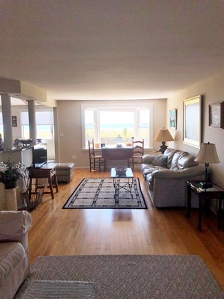 South Yarmouth/Bass River Cape Cod vacation rental - Living room with ocean view