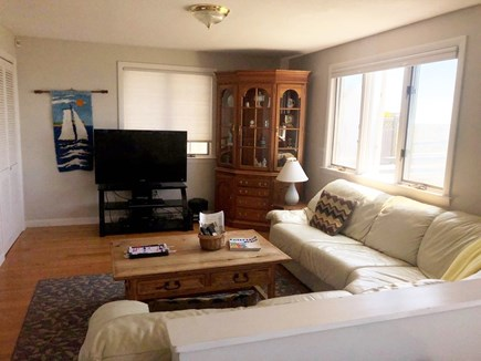 South Yarmouth/Bass River Cape Cod vacation rental - Family room with ocean view