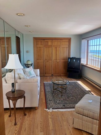 South Yarmouth/Bass River Cape Cod vacation rental - Upstairs Den with pullout and ocean view