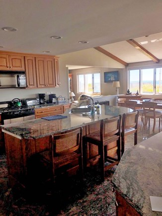 South Yarmouth/Bass River Cape Cod vacation rental - Granite Kitchen with ocean view