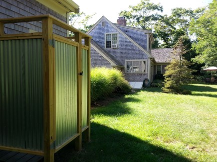 Brewster Cape Cod vacation rental - Outdoor shower