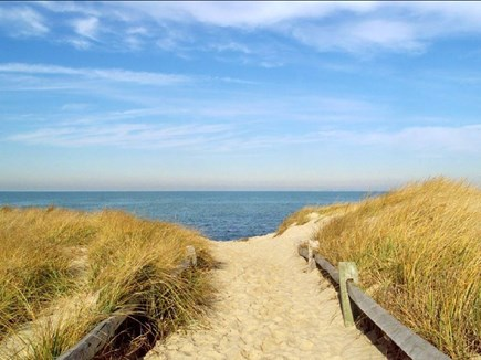 Brewster Cape Cod vacation rental - Beautiful Crosby Landing Beach is one mile away...