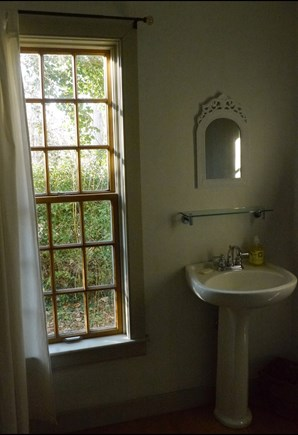 Brewster Cape Cod vacation rental - En suite bathroom w tiled shower.