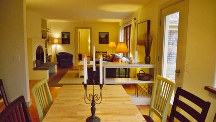 Brewster Cape Cod vacation rental - Dining & Living Rooms