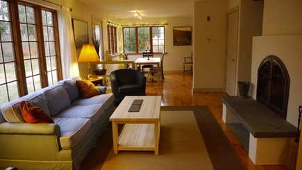 Brewster Cape Cod vacation rental - Living Room & Dining Room
