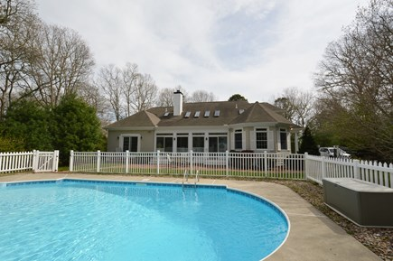 Osterville Osterville vacation rental - Fantastic outdoor pool and patio area