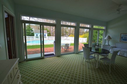 Osterville Osterville vacation rental - Sunroom area