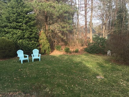 Bourne, Pocasset Cape Cod vacation rental - Peaceful yard