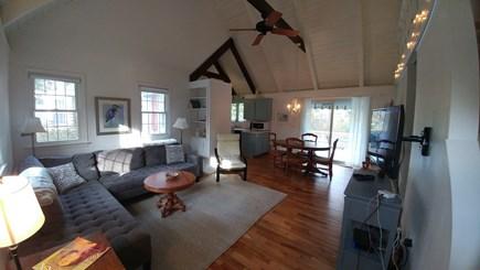 Bourne, Pocasset Cape Cod vacation rental - Open Living/Dining/Kitchen/Back deck