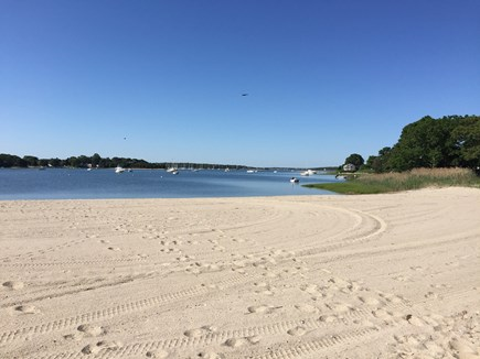 Bourne, Pocasset Cape Cod vacation rental - Walk just 1/2 mile to beautiful Hen Cove Beach