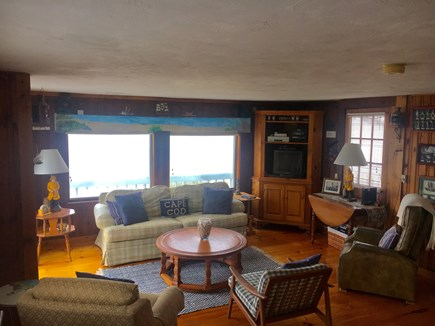 East Falmouth Cape Cod vacation rental - Living room.