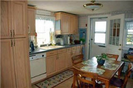 East Falmouth Cape Cod vacation rental - Kitchen view 1 from living room