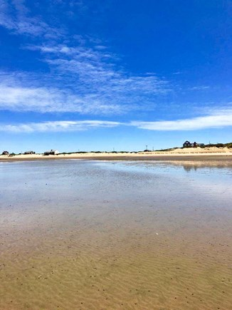 Eastham Cape Cod vacation rental - Sunken Meadow Beach at low tide from the flats Easy 1/2 mile walk
