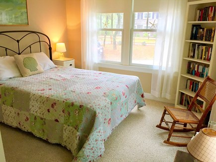 Eastham Cape Cod vacation rental - Second queen bedroom with a large closet and large windows.