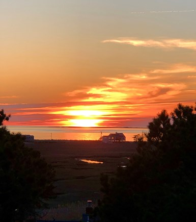 Eastham Cape Cod vacation rental - Beautiful sunsets and bay views from the upper crow's nest.