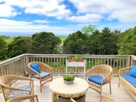 Eastham Cape Cod vacation rental - Crow's nest high above lower deck. Great views!