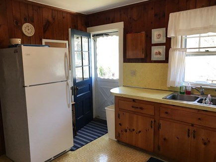 South Yarmouth Cape Cod vacation rental - Walk out to the Deck and start grilling!