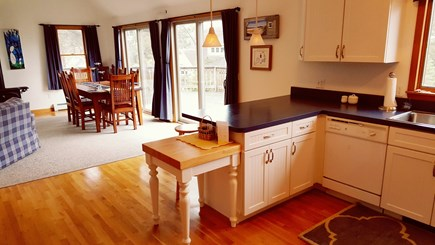 Eastham Cape Cod vacation rental - Eat in kitchen and dining area
