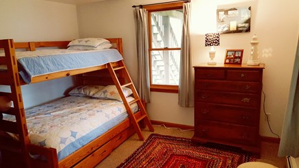 Eastham Cape Cod vacation rental - Bedroom 2 with full and twin bunk