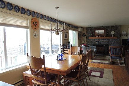West Harwich Cape Cod vacation rental - Bright Sunny Dining Area
