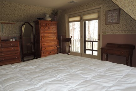 West Harwich Cape Cod vacation rental - Master Bedroom with King