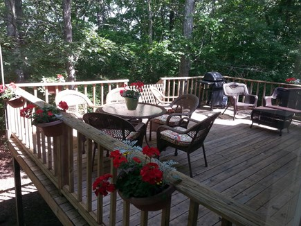 West Harwich Cape Cod vacation rental - Enjoy the deck for dining and relaxing