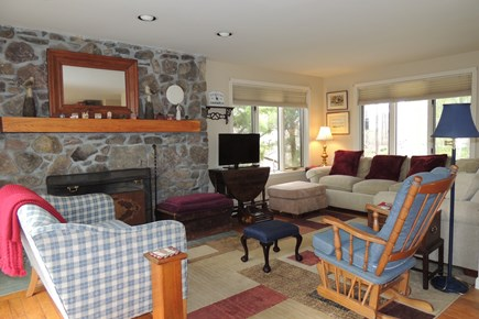 West Harwich Cape Cod vacation rental - Cozy Living Room